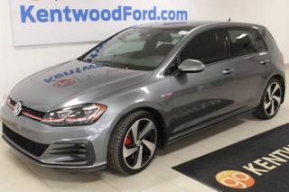 Used 2018 Volkswagen Golf GTI 3 MONTH DEFERRAL! *oac | Autobahn 4dr FWD Hatchback for sale in Edmonton, AB