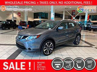 Used 2018 Nissan Qashqai SL 4dr AWD Sport Utility for sale in Richmond, BC