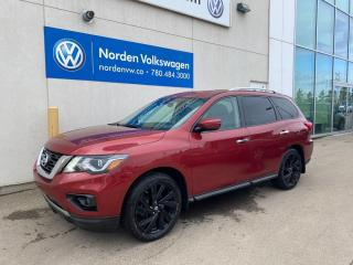 Used 2017 Nissan Pathfinder SV 4WD - HEATED STEERING WHEEL / 7 PASS for sale in Edmonton, AB