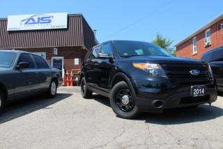 Used 2014 Ford Explorer AWD POLICE INTERCEPTOR FPIU SUV for sale in Scarborough, ON