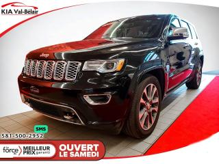 Used 2018 Jeep Grand Cherokee *OVERLAND*CUIR*GPS*TOIT* for sale in Québec, QC
