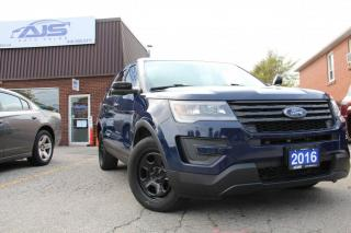 Used 2016 Ford Explorer AWD POLICE INTERCEPTOR  FPIU SUV for sale in Scarborough, ON