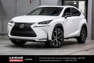 Used 2017 Lexus NX 200t *** RÉSERVÉ / ON HOLD *** NAVIGATION - ANGLES MORT -  MAGS for sale in Lachine, QC