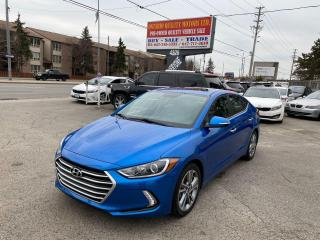 Used 2017 Hyundai Elantra Limited for sale in Toronto, ON
