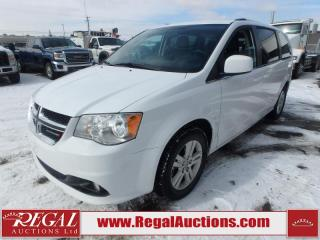 Used 2018 Dodge Grand Caravan Crew Plus Wagon 3.6L for sale in Calgary, AB