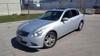 Used 2012 Infiniti G37X  Luxury for sale in Toronto, ON