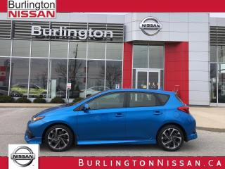 Used 2017 Toyota Corolla iM ACCIDENT FREE, 1 OWNER , WOW ONLY 18,000 KM'S ! for sale in Burlington, ON