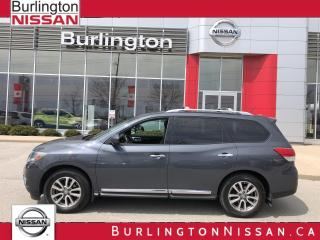 Used 2013 Nissan Pathfinder SL, PREMIUM, ACCIDENT FREE & 1 OWNER, NEW TIRES ! for sale in Burlington, ON