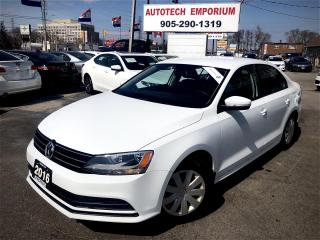 Used 2016 Volkswagen Jetta Trendline   Bluetooth/Heated Seats/Camera&ABS* for sale in Mississauga, ON