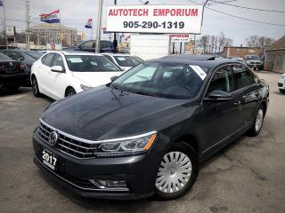 Used 2017 Volkswagen Passat 1.8TSI Comfortline/Navigation/Leather/Sunroof/Camera for sale in Mississauga, ON