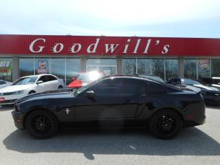Used 2014 Ford Mustang PREMIUM! HEATED LEATHER! BLUETOOTH! for sale in Aylmer, ON