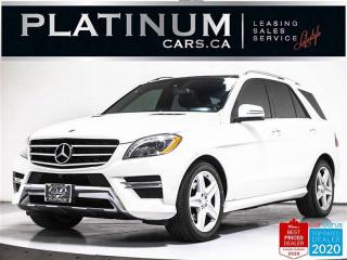 Used 2015 Mercedes-Benz ML-Class ML350 BlueTEC,AMG,NAV,360CAMERA,PANO,CLEAN CARFAX for sale in Toronto, ON