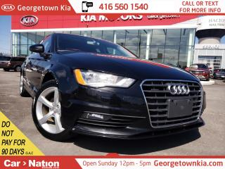 Used 2016 Audi A3 2.0T Komfort | QUATTRO | LEATHER | ACCIDENT FREE for sale in Georgetown, ON