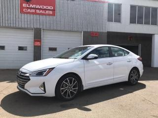 Used 2019 Hyundai Elantra Luxury for sale in Edmonton, AB