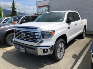 New 2020 Toyota Tundra 1794 EDITION for sale in North Vancouver, BC
