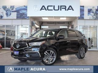 Used 2017 Acura MDX Navigation Package, Leather, 7 passanger for sale in Maple, ON