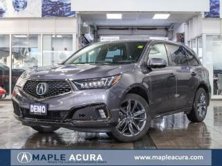 New 2019 Acura MDX A-Spec for sale in Maple, ON
