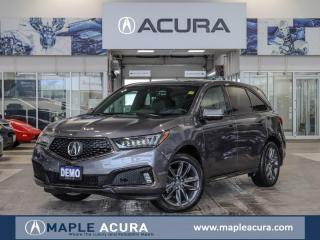 Used 2019 Acura MDX A-Spec Company DEMO Clearance Price for sale in Maple, ON
