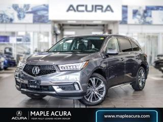 Used 2020 Acura MDX Tech Plus, One Owner, No Accudents, for sale in Maple, ON