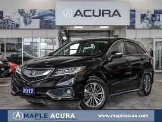 Used 2017 Acura RDX Elite, local car, one owner for sale in Maple, ON