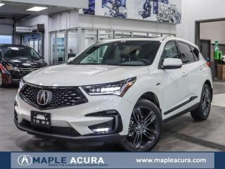 New 2019 Acura RDX A-Spec for sale in Maple, ON
