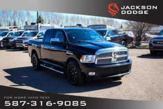 Used 2012 RAM 1500 Laramie Limited - NAV, Leather, Remote Start, for sale in Medicine Hat, AB