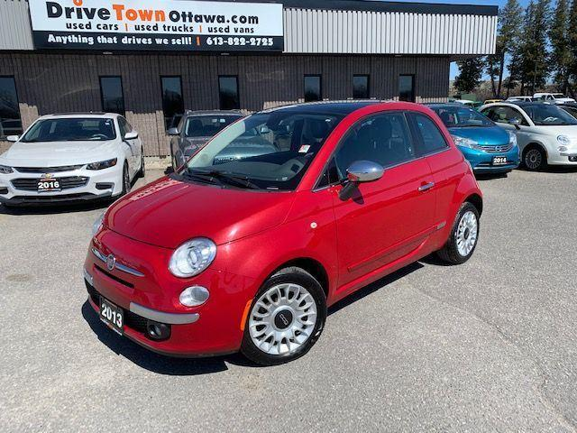 2013 Fiat 500 Lounge  **90 Days no Payments**