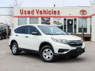 Used 2015 Honda CR-V 2WD 5dr LX for sale in North York, ON