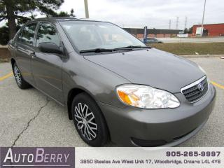 Used 2007 Toyota Corolla CE - AUTO - 1.8L for sale in Woodbridge, ON