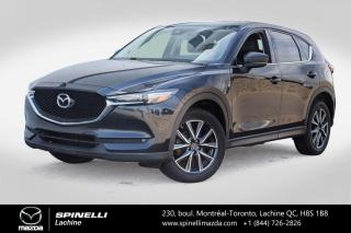 Used 2017 Mazda CX-5 GT AWD CUIR PREMIER PAIEMENT EN 3 MOIS Mazda CX-5 GT 2017 for sale in Lachine, QC