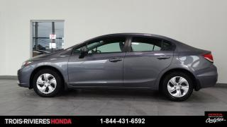 Used 2015 Honda Civic LX + CHAUFFE-MOTEUR + BLUETOOTH ! for sale in Trois-Rivières, QC