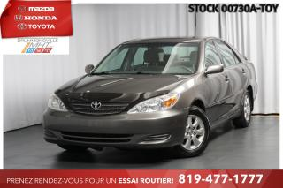 Used 2004 Toyota Camry V6 ||CONDITION MÉCANIQUE EXCEPTIONNELLE||  BAS KM for sale in Drummondville, QC