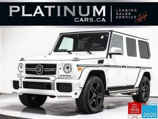 Used 2016 Mercedes-Benz G-Class AMG G63,563HP,BRABUS UPGRADES,DESIGNO LEATHER for sale in Toronto, ON