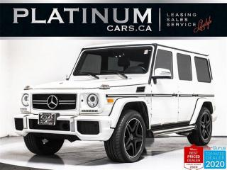 Used 2013 Mercedes-Benz G-Class G63 AMG,536HP,NAVI,CAM,BLINDSPOT,DESIGNO INTERIOR for sale in Toronto, ON