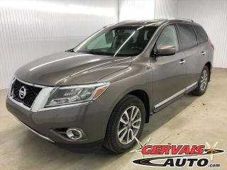 Used 2014 Nissan Pathfinder SL 7 PASSAGERS MAGS CUIR CAMÉRA DE RECUL SIÈGES CHAUFFANTS BLUETOOTH for sale in Shawinigan, QC