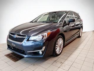 Used 2016 Subaru Impreza 5 PORTES* CVT* TOIT* SIEGES CHAUFFANTS* for sale in Québec, QC