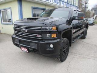 Used 2017 Chevrolet Silverado 2500 3/4-TON DIESEL LTZ EDITION 5 PASSENGER 6.6L - DURAMAX.. 4X4.. CREW.. SHORTY.. NAVIGATION.. LEATHER.. HEATED/AC SEATS.. SUNROOF.. TRAILER BRAKE.. for sale in Bradford, ON