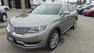 Used 2017 Lincoln MKX Reserve for sale in New Hamburg, ON