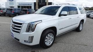 Used 2016 Cadillac Escalade ESV Premium Collection for sale in New Hamburg, ON