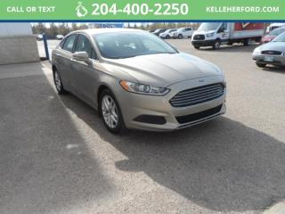 Used 2015 Ford Fusion SE for sale in Brandon, MB