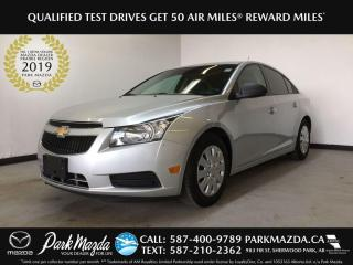 Used 2013 Chevrolet Cruze LS for sale in Sherwood Park, AB