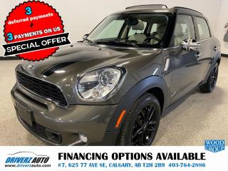 Used 2014 MINI Cooper Countryman Cooper S 4x4, LEATHER, NAV, ROOF AND MORE.. for sale in Calgary, AB