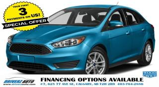 Used 2017 Ford Focus SEL sunroof.heated seats and more..... for sale in Calgary, AB