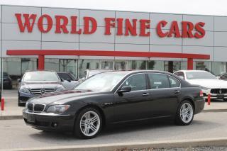 Used 2006 BMW 7 Series 760 Li | V12 | *Loaded* for sale in Etobicoke, ON