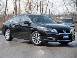 Used 2015 Honda Accord EX-L Leather | Sunroof | Brand New Tires | Brand New Brakes Front and Rear! for sale in St Catharines, ON