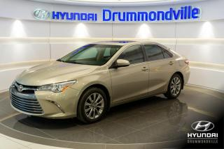 Used 2017 Toyota Camry XLE + GARANTIE + NAVI + TOIT + MAGS + CU for sale in Drummondville, QC