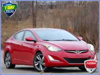 Used 2016 Hyundai Elantra GLS SUNROOF   REAR CAM   ONLY 59K KM'S!   HEATED SEATS for sale in Kitchener, ON