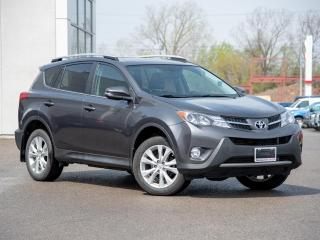 Used 2015 Toyota RAV4 Limited AWD Tech Package - Local Trade for sale in Welland, ON