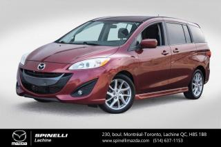 Used 2012 Mazda MAZDA5 GT 6 PASSAGERS AUTO PREMIER PAIEMENT EN 3 MOIS Mazda 5 GT 2012 for sale in Lachine, QC