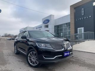 Used 2016 Lincoln MKX Reserve for sale in St Thomas, ON